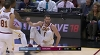 LeBron James with 12 Assists  vs. Memphis Grizzlies