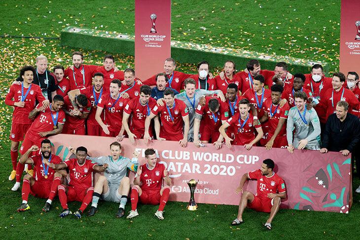 🤴🏻 Теперь «Бавария» официально идеальна: взяли клубный ЧМ, собрали все возможные трофеи за 7 месяцев