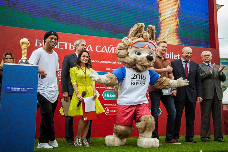 До чемпионата мира – два с половиной месяца. Парк футбола в Сочи – уже в эти выходные