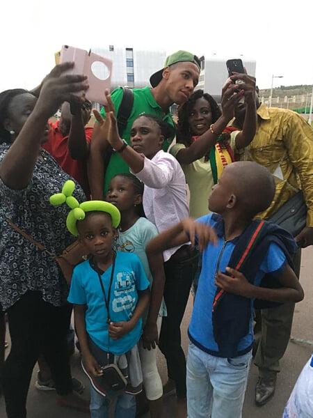 Путешествия одессита из сборной Конго: из Донецка – в Данию, из протестного Гонконга – в ФНЛ. В Африке его считают белым