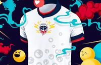 игровая форма, Д2 Колумбия, Форталеса, стиль
