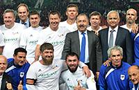 Ахмат, фото, Владимир Путин, Валерий Газзаев, Ахмат-Арена, Роман Широков, Роналдиньо, политика