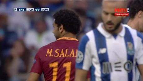 Лига чемпионов. «Порту» - «Рома»