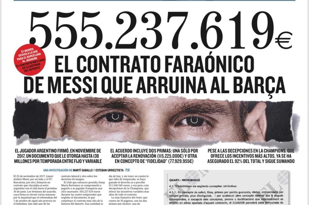 История отношений Месси с «Барселоной»: от контракта на салфетке до расставания