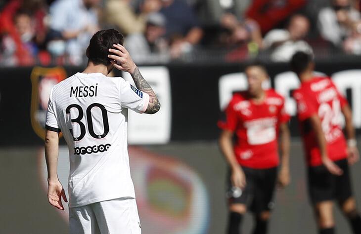 Обыграв «Сити», «ПСЖ» проиграл «Ренну». Пропустили на 45-й и 46-й, Месси опять не забил в Лиге 1, ВАР отменил гол Мбаппе