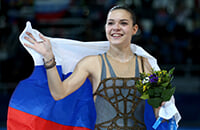 сборная России, Аделина Сотникова, женское катание, Сочи-2014