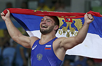 Рио-2016, греко-римская борьба, Жан Беленюк, Давит Чакветадзе