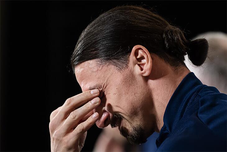 «Винсент рыдал, когда я уехал». Златана пробило на слезы после вопроса о семье и возвращении в сборную