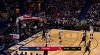Tyreke Evans hits from way downtown