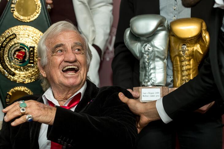 Жан-Поль Бельмондо обожал бокс: становился чемпионом Парижа и даже сыграл боксера в кино