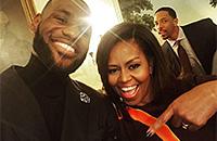 «Первый президент, который использовал слово «понтоваться». Обама зажигает на встречах с чемпионами НБА
