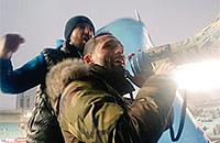Кевин Кураньи, болельщики, Олимп-ФНЛ, Динамо Москва, фото