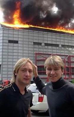 Ягудин и Плющенко не всегда воевали: вместе спасались от пожара, «выпивали по рюмочке», танцевали на юбилее Евгения