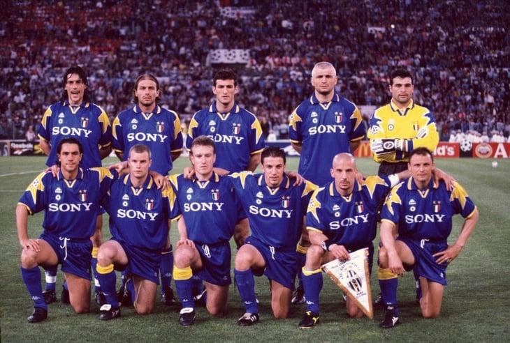 Ювентус реал мадрид 1996