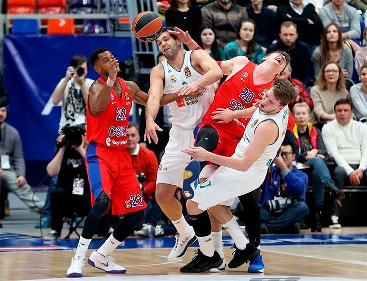 Turkish Airlines Euroleague, Реал, ЦСКА