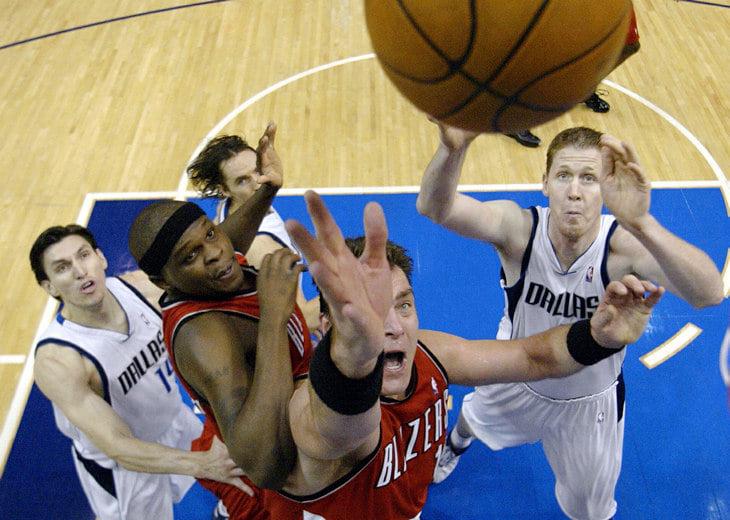Последний матч Сабониса в НБА: 7-я игра серии против Новицки, неожиданный выход в старте и чудо-пас