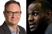 Кливленд, ЛеБрон Джеймс, Джей Джей Редик, НБА, бизнес, ESPN, Yahoo, Эдриан Воджнаровски
