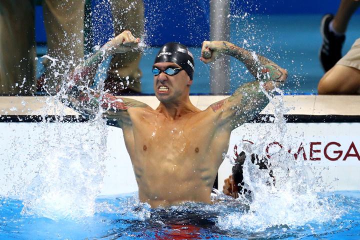 плавание, сборная США, Рио-2016, Энтони Эрвин