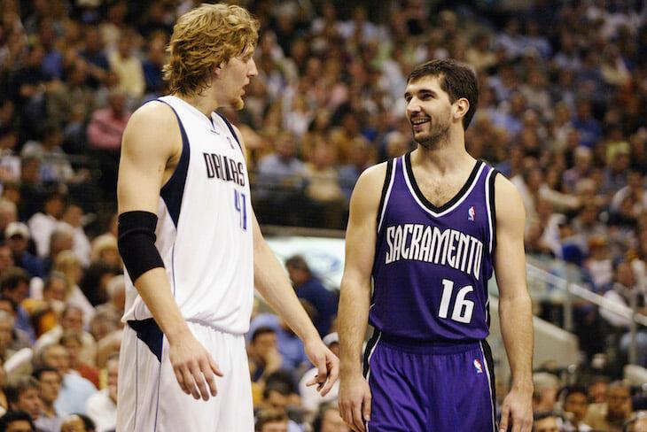 Назовете лучших европейцев в истории каждого клуба НБА?