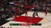Khris Middleton, Eric Bledsoe Top Plays vs. Portland Trail Blazers