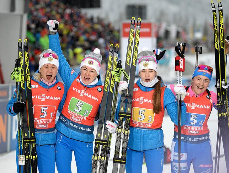 Россия упустила золото, хотя везла норвежкам минуту.