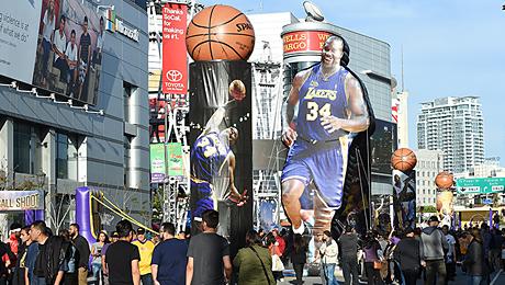 Баскетбол в роли краеугольного камня современной американской поп-культуры