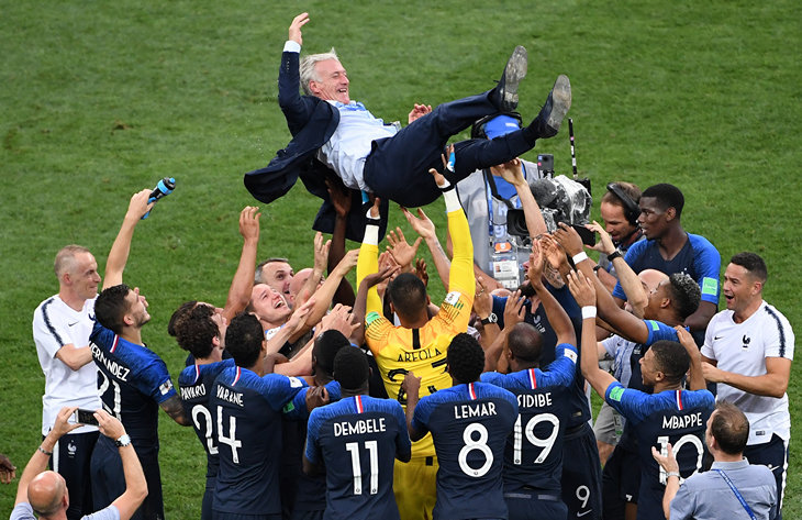 Сборная Франции по футболу, ЧМ-2018, Сборная Хорватии по футболу, Дидье Дешам