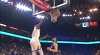Kevin Durant rises up and throws it down
