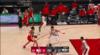 Enes Kanter Blocks in Portland Trail Blazers vs. Atlanta Hawks