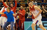 сборная России, сборная Боснии и Герцеговины, Евробаскет-2017