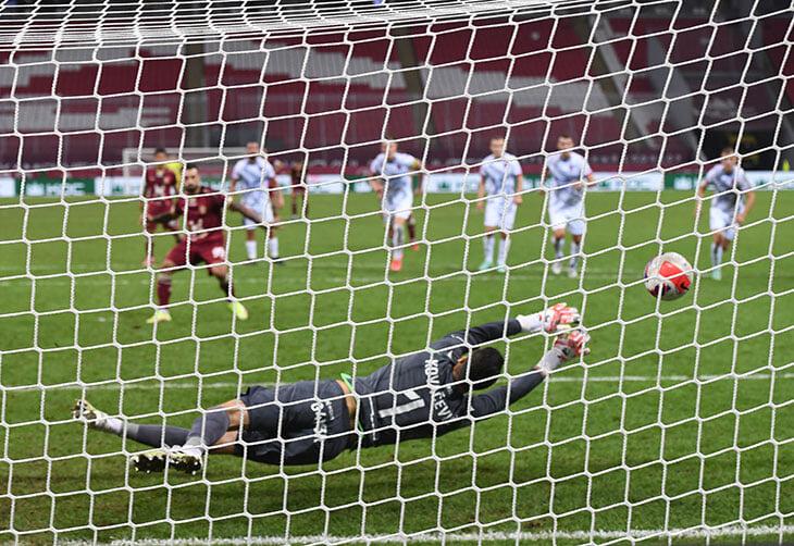 «Рубин» впервые не забил пенальти при Слуцком. Хакшабанович всегда бьет в один угол (но ему почти не было альтернативы)