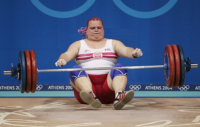 фото тяжелая атлетика девушки