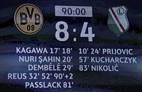 Боруссия Дортмунд, рекорды, Легия, Лига чемпионов