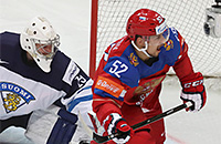 ЧМ-2016, сборная Финляндии, сборная России