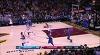 LeBron James with the nice dish vs. the Magic