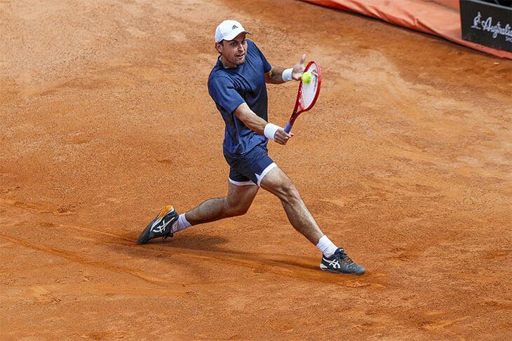 Карацев – лидер сезона по победам над топ-10! В Риме он обыграл сердитого Медведева