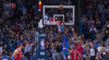 Jerami Grant goes up to get it and finishes the oop