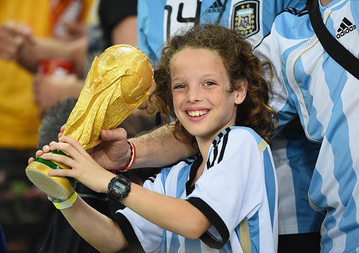 высшая лига Аргентина, Сборная Аргентины по футболу