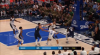 Kristaps Porzingis sinks the shot at the buzzer