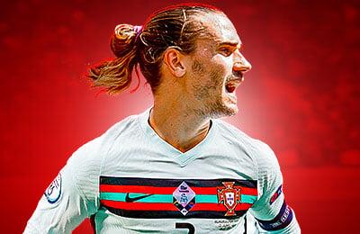 Сборная Франции по футболу, Антуан Гризманн, Сборная Португалии по футболу