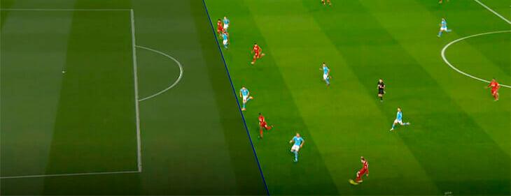Судьи правильно засчитали оба мяча «Ливерпуля». До игры рукой Трента мяч попал в руку Бернарду, Салах не был в офсайде