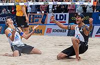 У России – первое золото ЧМ в пляжном волейболе! Чемпионской паре нет и года