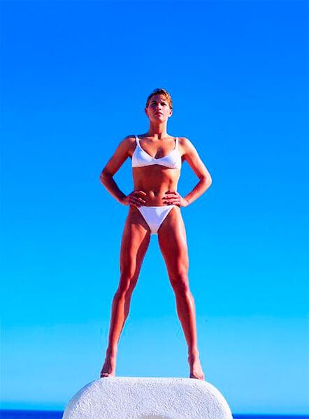 Штеффи Граф отказалась от $270к за фото для Penthouse, а спустя 10 лет первой снялась в бикини для Sports Illustrated