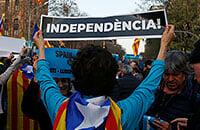 Вокруг класико – протесты. Борцы за независимую Каталонию пообещали забросать поле шарами