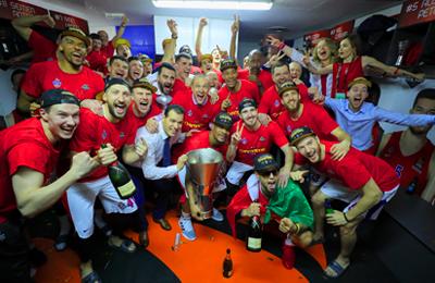 Баскетбольный ЦСКА – лучший в Европе! Поздравляем