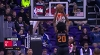 Josh Jackson with one of the day's best dunks