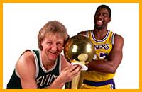 НБА, Лейкерс, Бостон, Мэджик Джонсон, Лэрри Берд