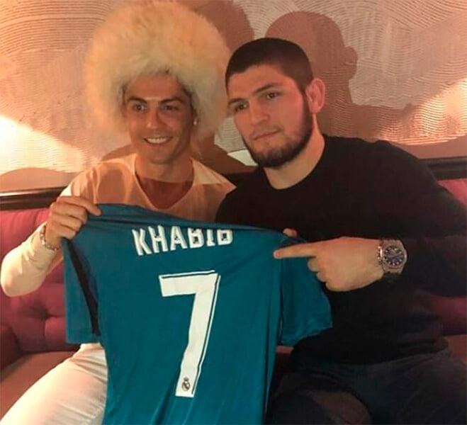 Кажется, Хабиб – глор. Он поддерживал и «Спартак», и ЦСКА, а больше всего любит «Реал»