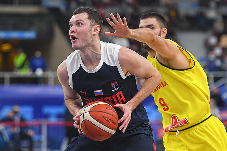 Сборная России отобралась на Евробаскет-2022