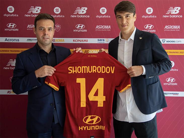 Сказка Шомуродова: теперь он в «Роме» Моуринью. За 17,5 млн евро!